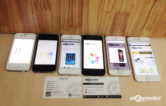 iPhone secondhand price quotation