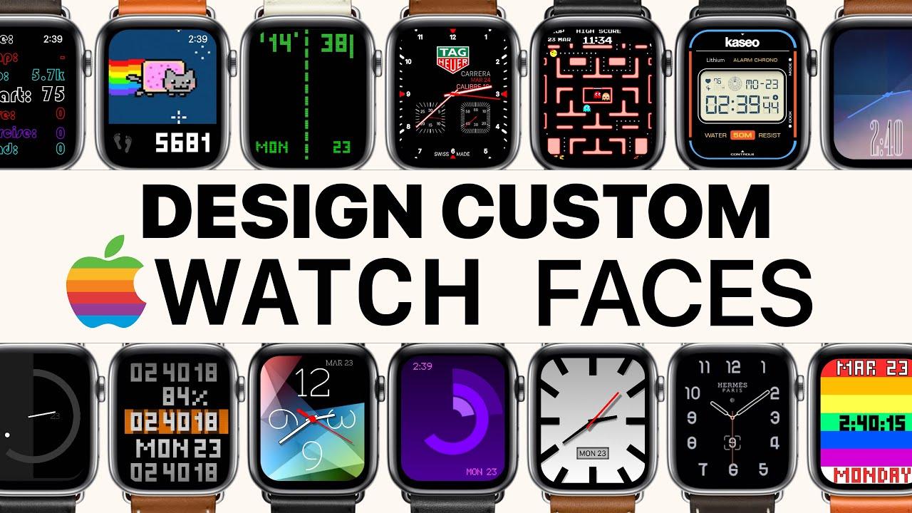 Hướng dẫn tạo mặt đồng hồ Apple Watch HERMES, FRANCK MULLER, ROLEX, CASIO....