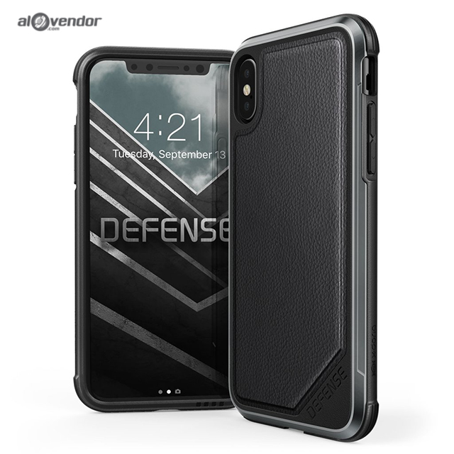 Case iPhone X XDORIA Defense Lux Leather