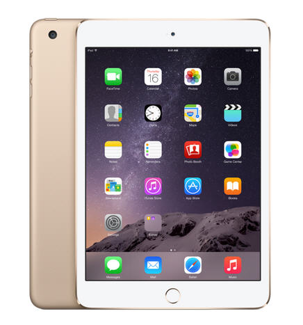 iPad mini 3 64GB Wifi 4G Gold