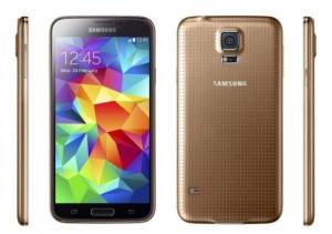 Vỏ SAMSUNG Galaxy S5 Gold