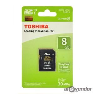 Thẻ nhớ SD Toshiba 8GB Class 10 chính hãng