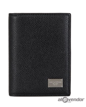 Dolce & Gabbana Dauphine Leather Coins and Card Holder