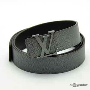 Louis Vuitton Taiga Leather Initials Belt