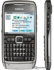 Bộ vỏ Nokia E71 chính hãng