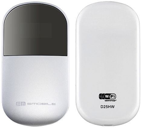 Thiết bị phát Wifi Huawei EMobile D25HW