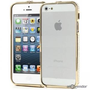 Viền Metal Bumper đính đá Swarovski iPhone 5s