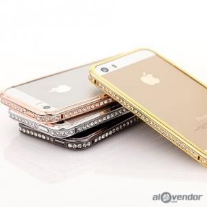 Ốp viền đá Swarovski iPhone 4s SHENGO