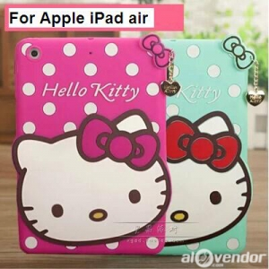 Ốp iPad Air Hello Kitty Silicon
