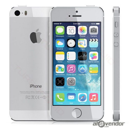 iPhone 5s 64GB Silver 99%
