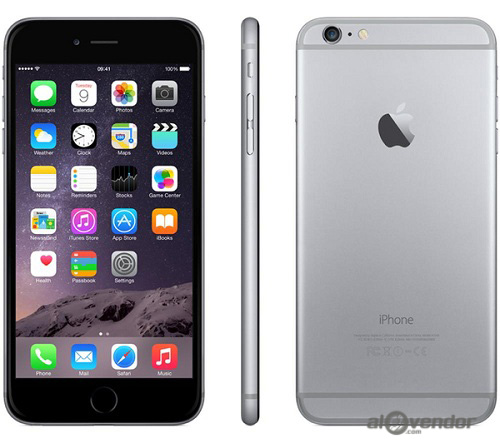 iPhone 6 Plus 16G Gray 99%