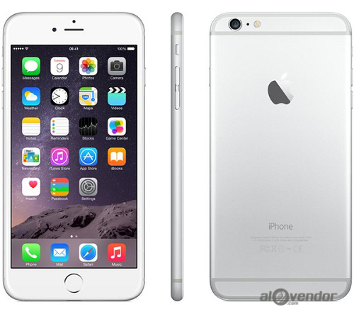 iPhone 6 Plus 128GB Silver 99%