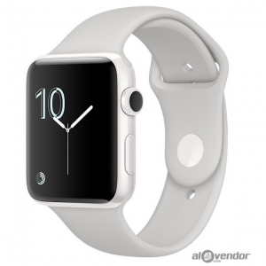 Apple Watch Edition White Ceramic Case with Cloud Sport Band 42mm