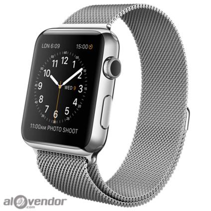 Apple Watch Series 2 Stainless Steel Case with Milanese Loop 42mm