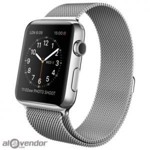 Apple Watch Series 2 Stainless Steel Case with Milanese Loop 42mm
