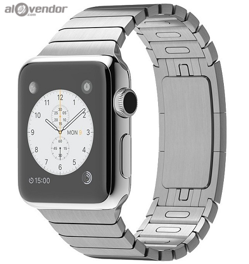 Apple Watch Series 2 Stainless Steel Case with Silver Link Bracelet 38mm
