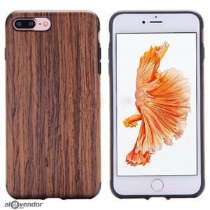 Ốp lưng iPhone 7 Plus vân gỗ ROCK