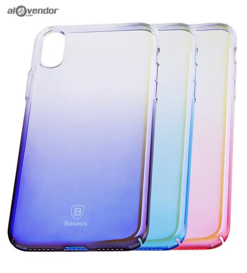 Ốp đổi màu iPhone X BASEUS Glaze