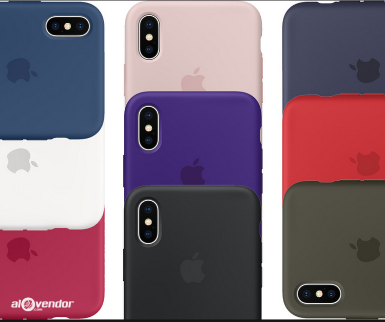 Ốp Apple Silicone iPhone X/XS OEM