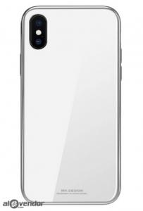 Ốp iPhone X trắng WK Design