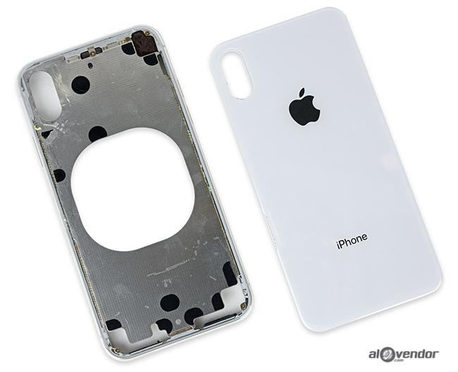 Thay lưng kính iPhone X