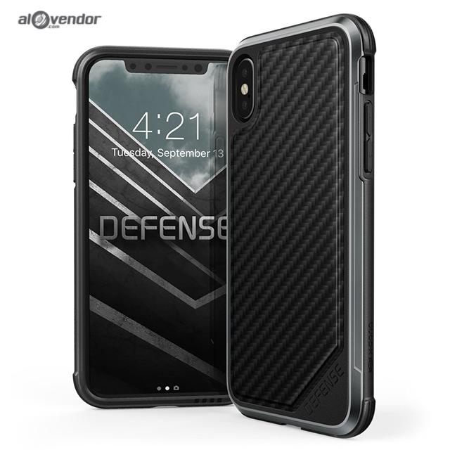 Case iPhone X XDORIA Defense Lux Carbon