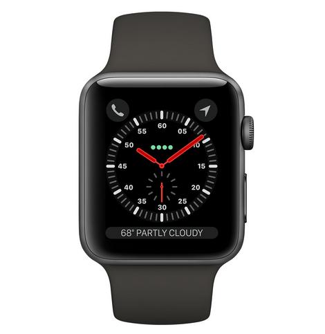 Apple Watch Series 3 38mm Space Gray Al Gray Sport GPS