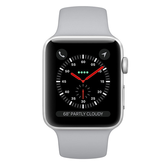 Apple Watch Series 3 38mm Silver Al Fog Sport GPS