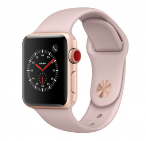 Apple Watch Series 3 42mm Gold Al Pink Sport LTE