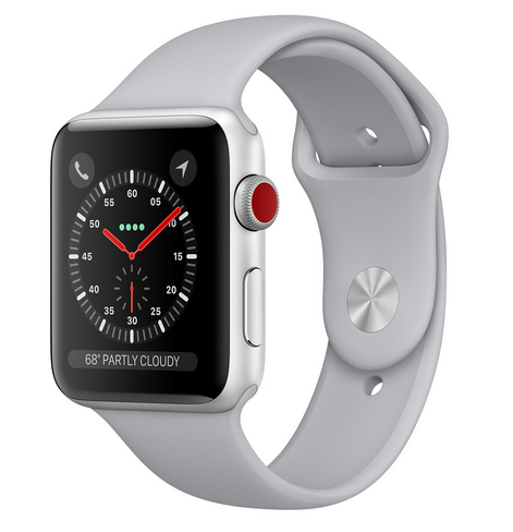 Apple Watch Series 3 42mm Silver Al Fog Sport LTE