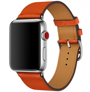 Dây Apple Watch 42mm Feu Epsom Leather Single Tour