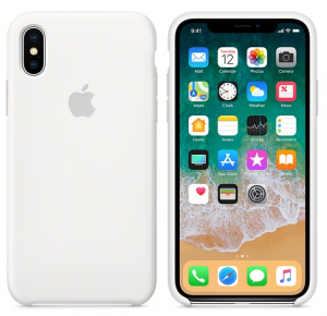 iPhone X/XS Silicone Case White Replica