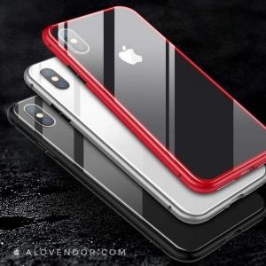 Ốp nam châm lưng kính iPhone X