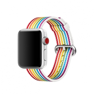 Dây Apple Watch Pride Edition Woven Nylon