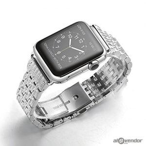 Dây Apple Watch Swarovski Silver