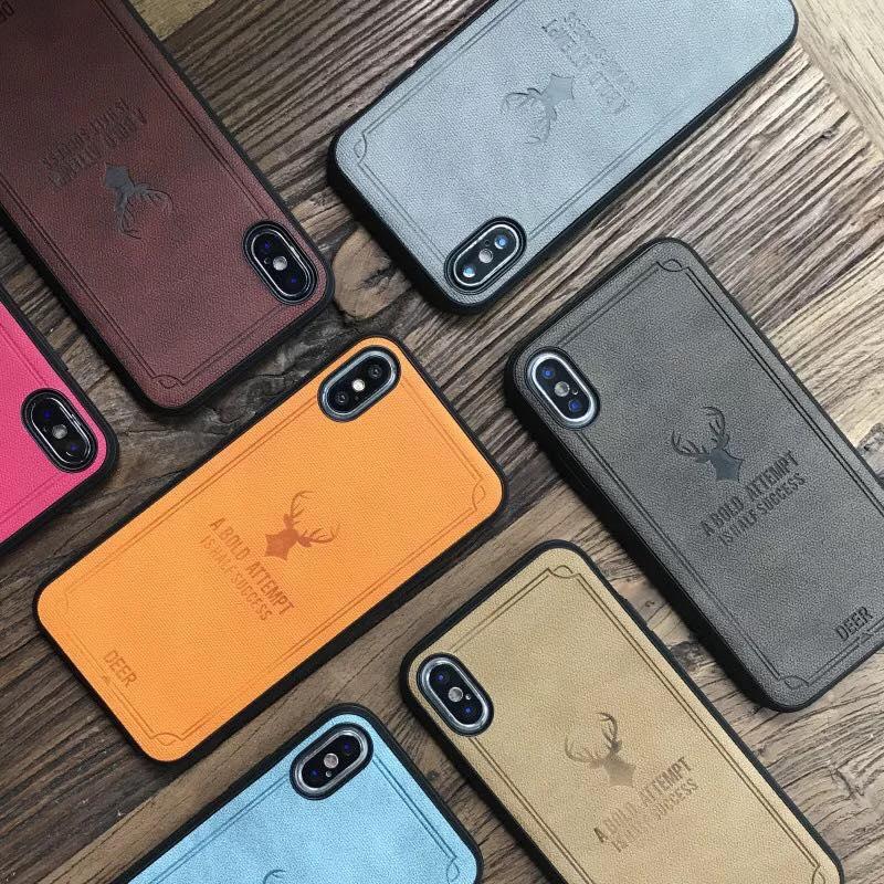 Ốp lưng vải Canvas iPhone Xs Max