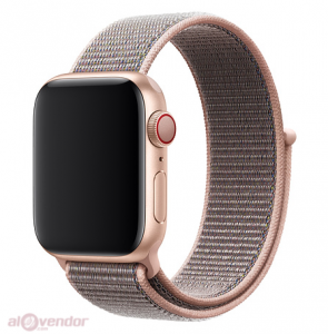 Dây Apple Watch Pink Sand Sport Loop