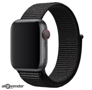 Dây Apple Watch Black Sport Loop