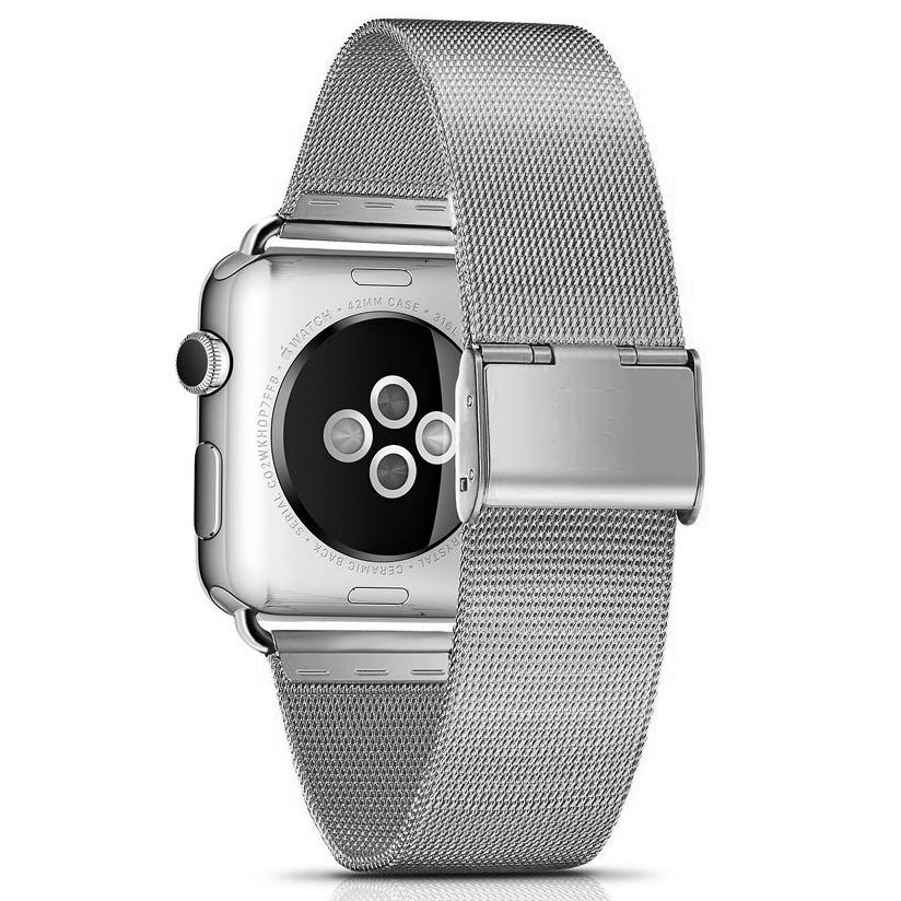Dây Apple Watch Milanese khoá rút