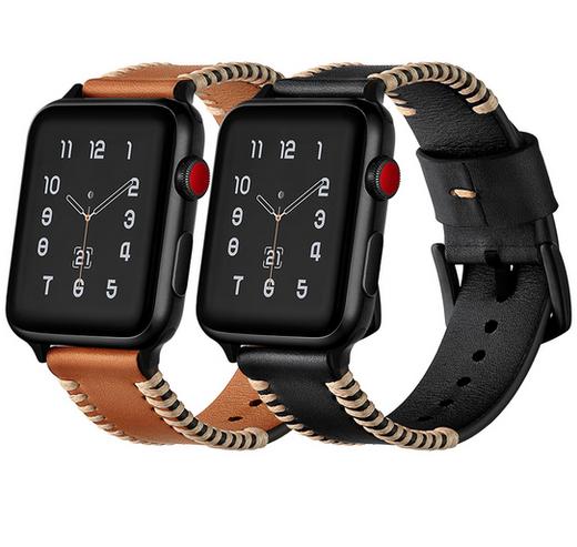 Dây Apple Watch da Sewing