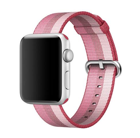 Dây Apple Watch Woven Nylon Berry