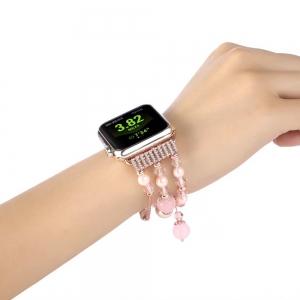 Dây Apple Watch Trân Châu Hồng