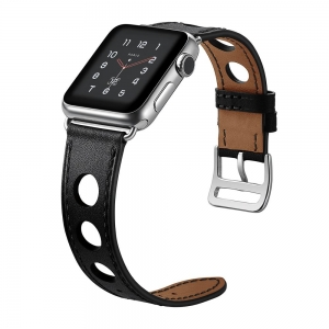 Dây Apple Watch HERMES Rallye đen