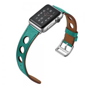 Dây Apple Watch HERMES Rallye Xanh Mint