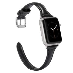Dây Apple Watch Da bản nhỏ BLACK
