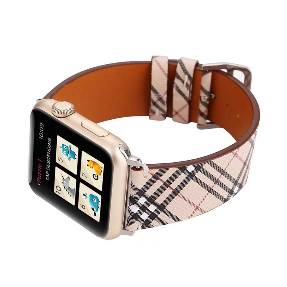 Dây Apple Watch BURBERRY kẻ xéo