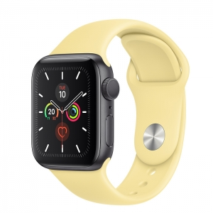 Apple Watch Series 5 Space Grey Aluminium Case with Sport Band