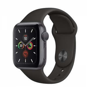 Apple Watch Series 5 Space Grey Aluminium Case with Sport Band 44MM