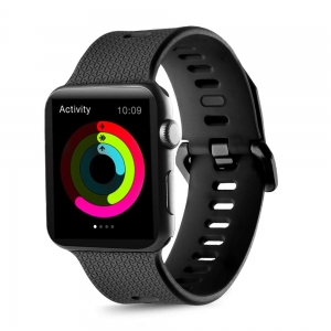 Dây Apple Watch Silicone Sport Buckle