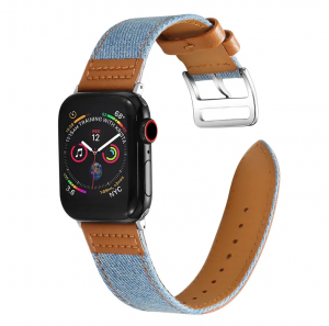 Dây Apple Watch Denim Nâu